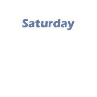 4 - Saturday