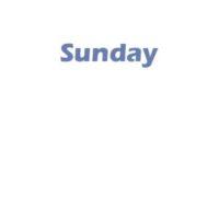 5 - Sunday