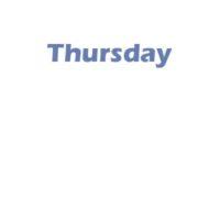 2 - Thursday