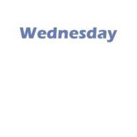 1 - Wednesday